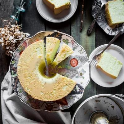Pandan chiffon cake (updated)