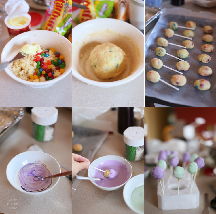 Step by step how to make egg pops #EasterSweets #ad