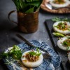 Banh beo (Vietnamese steamed rice cakes/Water-fern cakes)