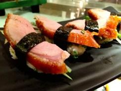 duck sushi