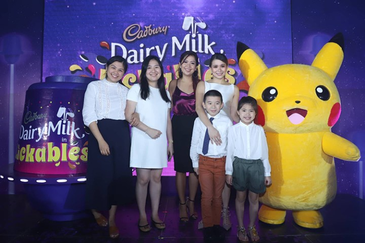 Cadbury Dairy Milk Brand Team with LJ Reyes and Kids