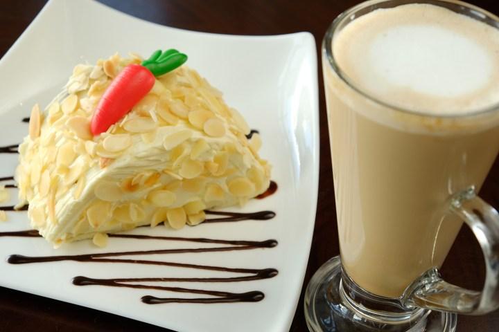 RHI Coffee Pairings - Carrot Cake & Cafe Latte