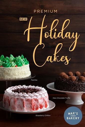 Max's Bakery Holiday cakes