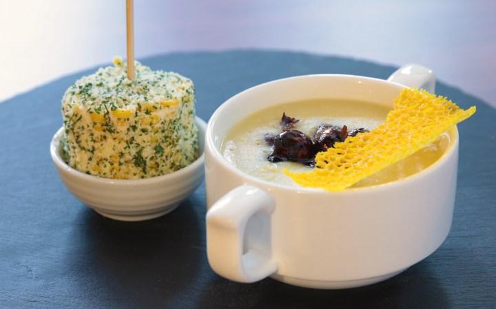 EC+B Nuovo Classics - Grilled Corn Chowder