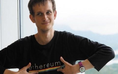Виталик Бутерин перечислил 30.000 ETH на Bitstamp