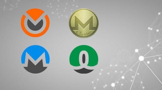 В результате одного хардфорка Monero появились четыре новых проекта