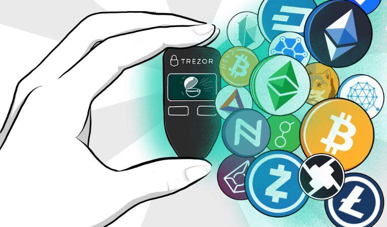 В криптокошельке Trezor теперь можно проводить прямой обмен криптовалют