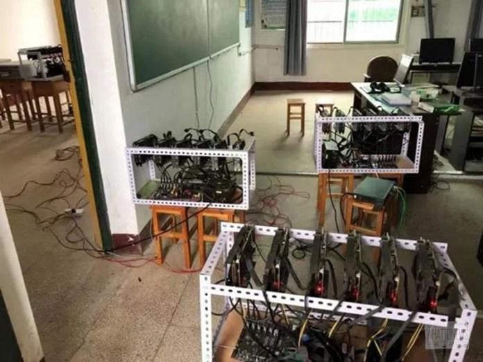 В Китае школьное начальство добывало Ethereum за счет учреждения