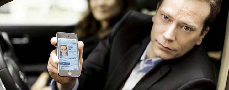 Украина: Водительские права и техпаспорт в смартфоне
