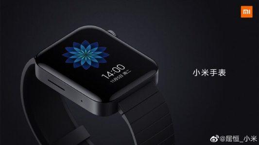 Появились первые изображения смарт-часов Xiaomi Mi Watch