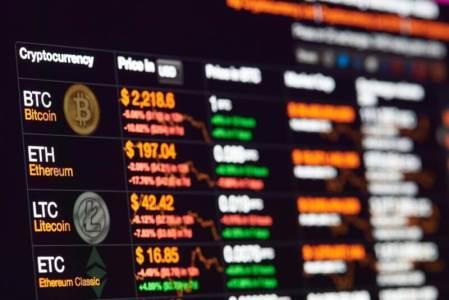 Объём бирж с майнингом комиссий за транзакцию снижается