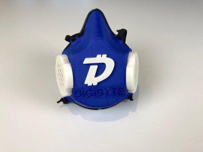DigiByte представил многоразовую моющуюся маску BitMask