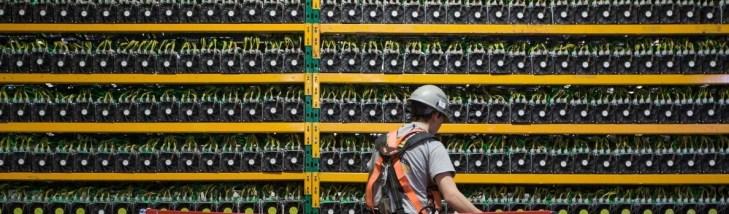 Две китайские компании контролируют 52% хешрейта биткоина
