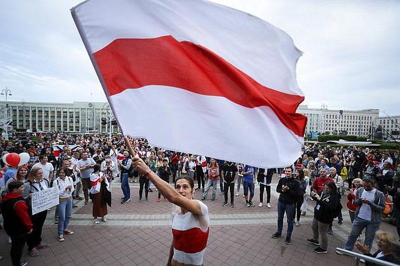 Telegram поддержал протесты в Беларуси изменив флаг