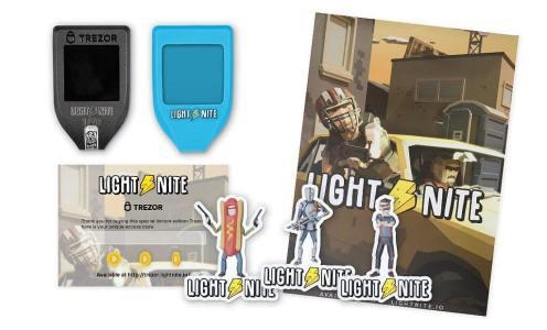 Trezor и игра Lightnite выпустят специальную партию