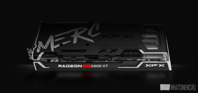 Майнинг на видеокарте AMD Radeon RX 6800 XT Speedster MERC 319