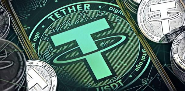 Объем транзакций со стейблокином Tether превысил $1 трлн