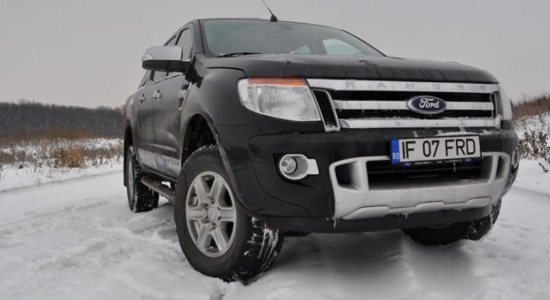 Primul test drive cu noul Ford Ranger 2.2 TDCi 150 CP 2012 Automatic