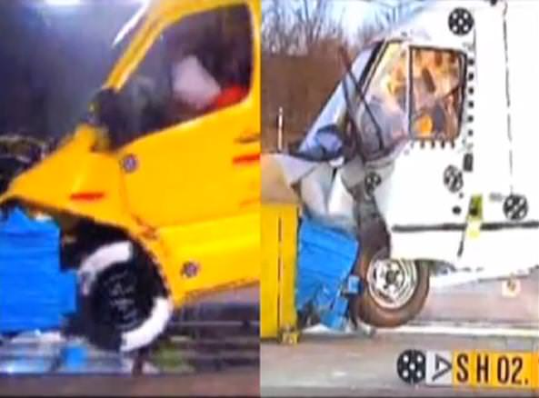 Cat de sigure sunt masinile utilitare? Comparativ Mercedes Sprinter vs Ford Transit