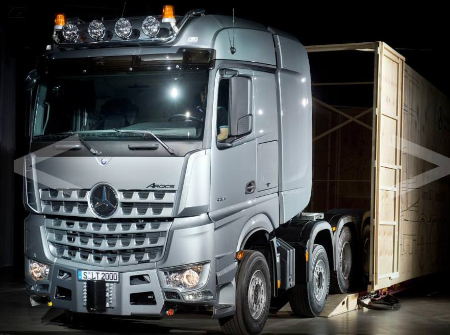 Mercedes Actros si Arocs primesc o motorizare diesel OM 473 de 625 CP-Actros SLT 2014