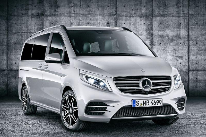 Mercedes a lansat noul V-Class AMG-Line-Pretul porneste de la 90.000 euro