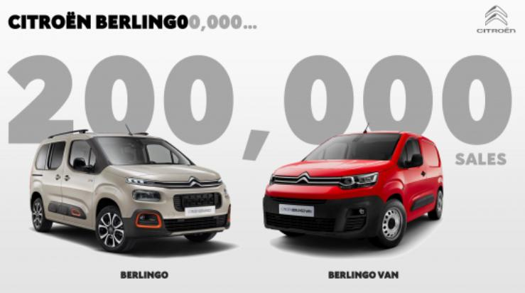 Noul Citroen Berlingo a fost deja vandut in peste 200.000 de exemplare! VW Caddy pierde suprematia in Europa