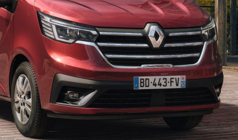 Vezi cum arata noul Renault Trafic facelift 2021