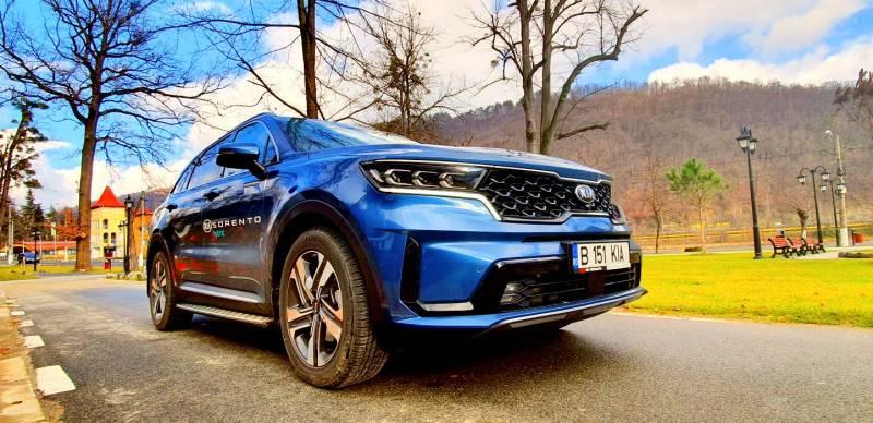 Test Drive in premiera cu noul SUV KIA Sorento 1.6 T-GDI Hybrid AT6 2021