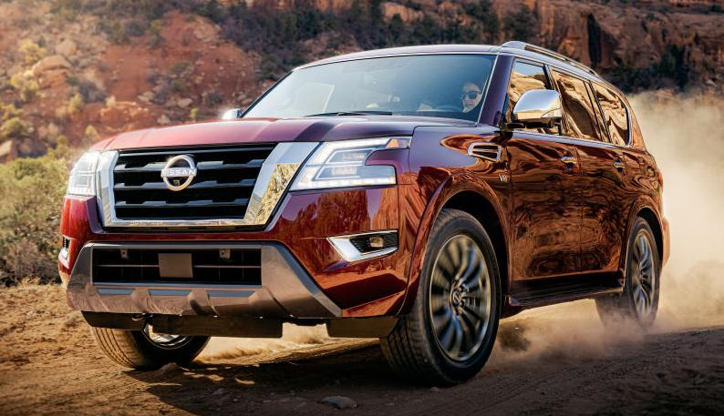 Cel mai bun SUV Nissan primeste un facelift! Noul Nissan Armada 2021