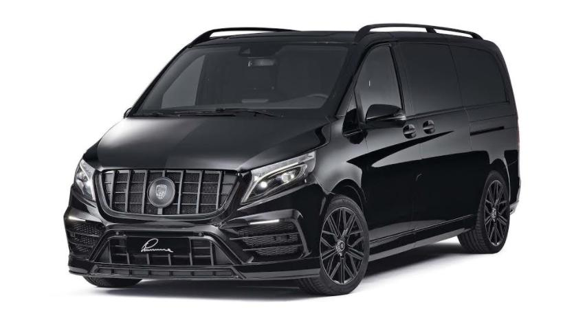 LUMMA prezinta un kit tuning CLR V pentru gama Mercedes-Benz V-Class (Type W447)