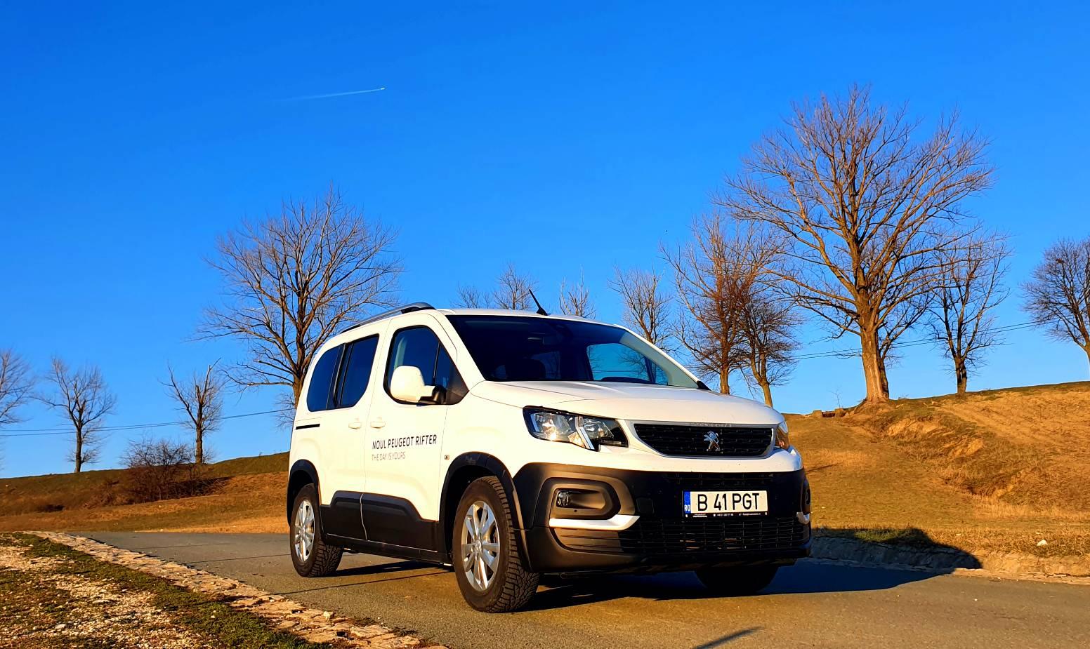 Test Drive cu noul Peugeot Rifter Active 1.5 BlueHDI 100 CP 2021