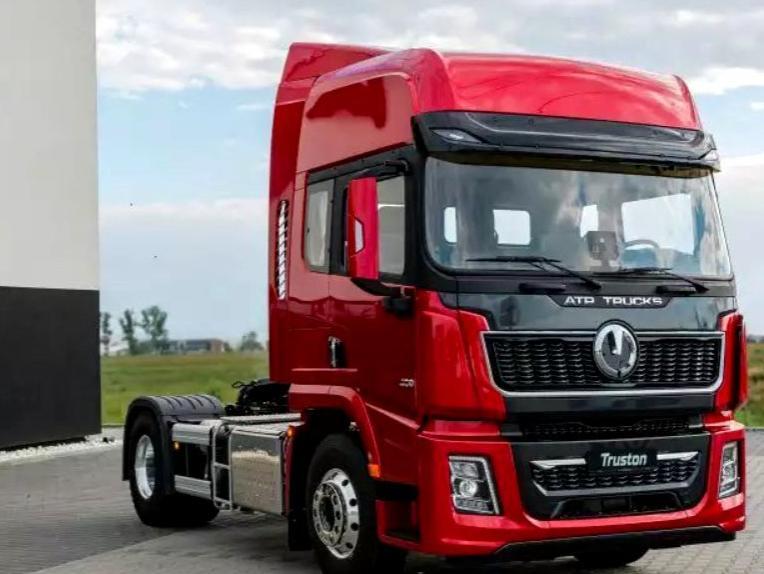ATP Exodus aduce acum in Romania un nou camion chinezesc! Cap Tractor 4×2 2021