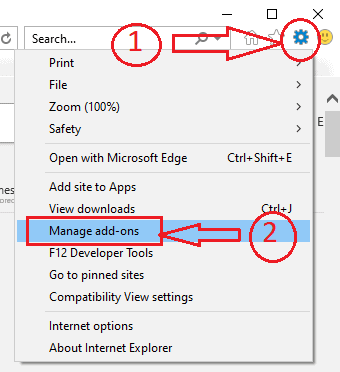 INTERNET EXPLORER OPTION