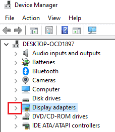 device adapter option