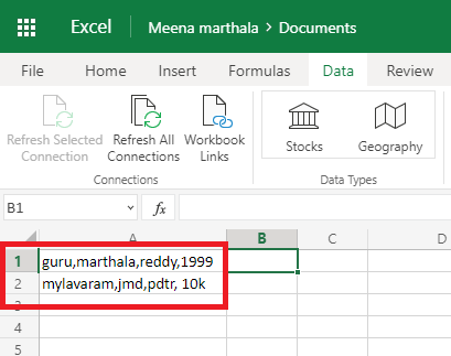 How to Split columns in excel into multiple columns 2