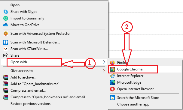 How to Backup, Import, Export opera bookmarks 3
