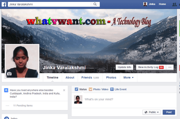 How to Change Facebook profile picture & Cover Photo ...