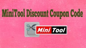 MiniTool Discount Coupon Code