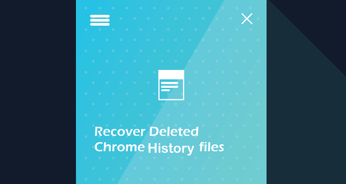 recover deleted history chrome