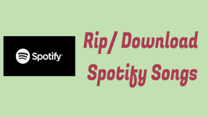 Download Spotify Songs