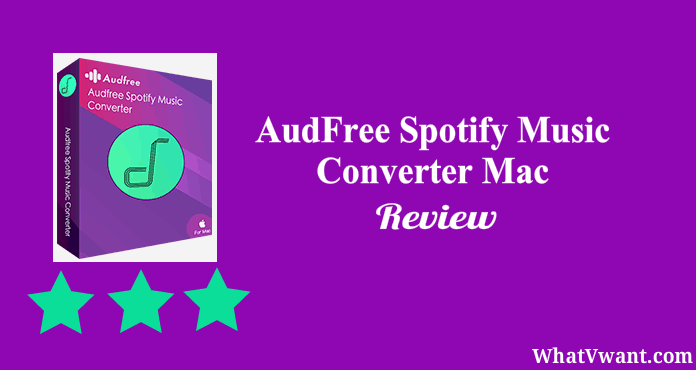 AudFree spotify music converter for Mac review
