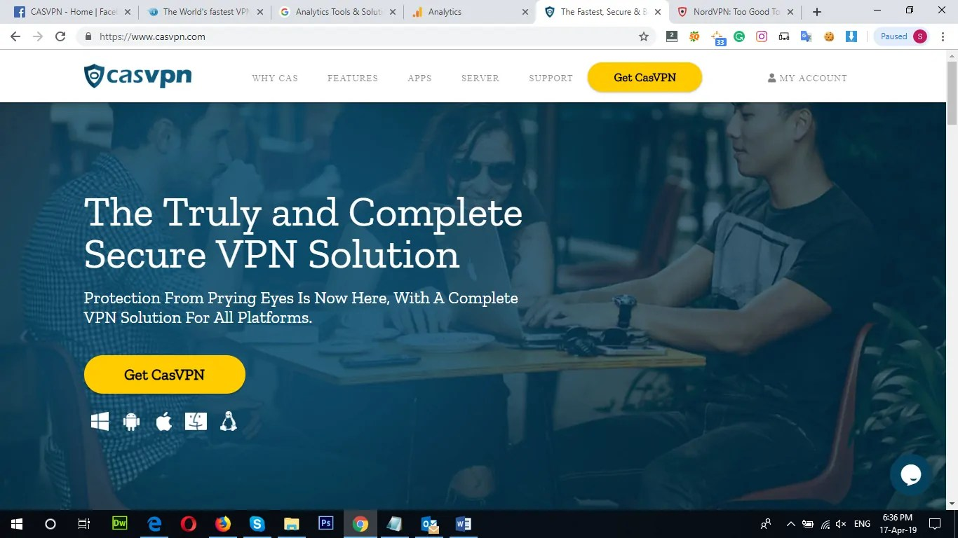 CASVPN Review: Why to Choose CASVPN? 1