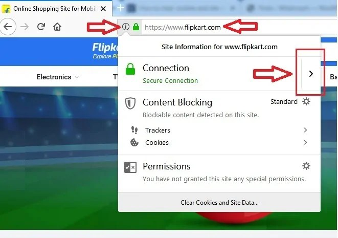 Secure Connection option on Mozilla Firefox