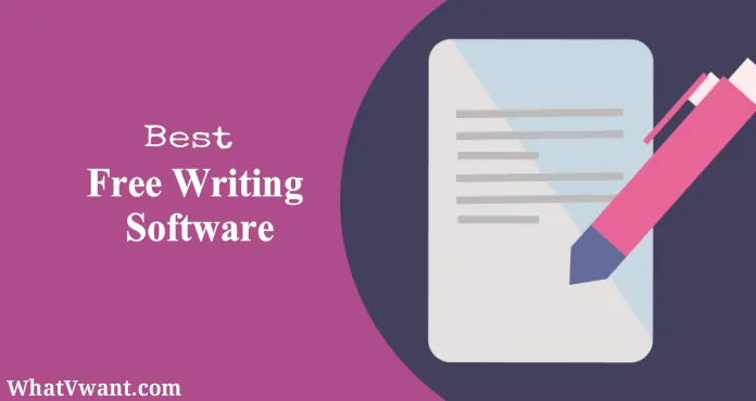Free writing software