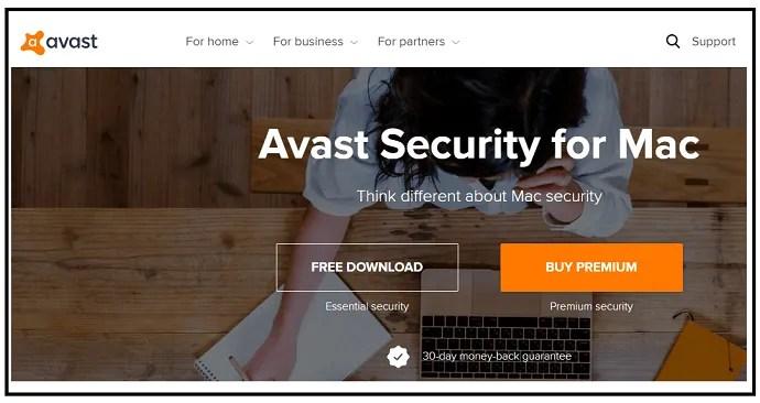 Avast-Free-Security-Antivirus-for-Mac-WebPage