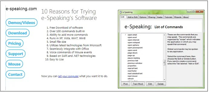 e-Speaking-HomePage-to-install-its-desktop-application-to-convert-speech-to-text