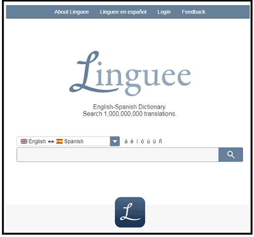 best Spanish to English Dictionary-web-page-to-learn-Spanish