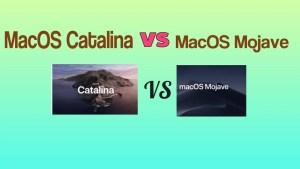 MacOS Catalina VS MacOS Mojave