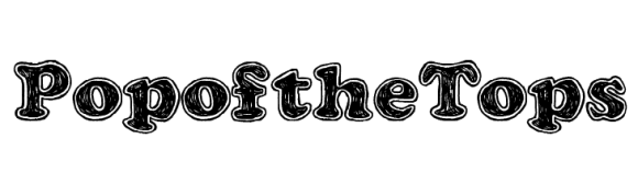 Image result for Pop of the Tops font