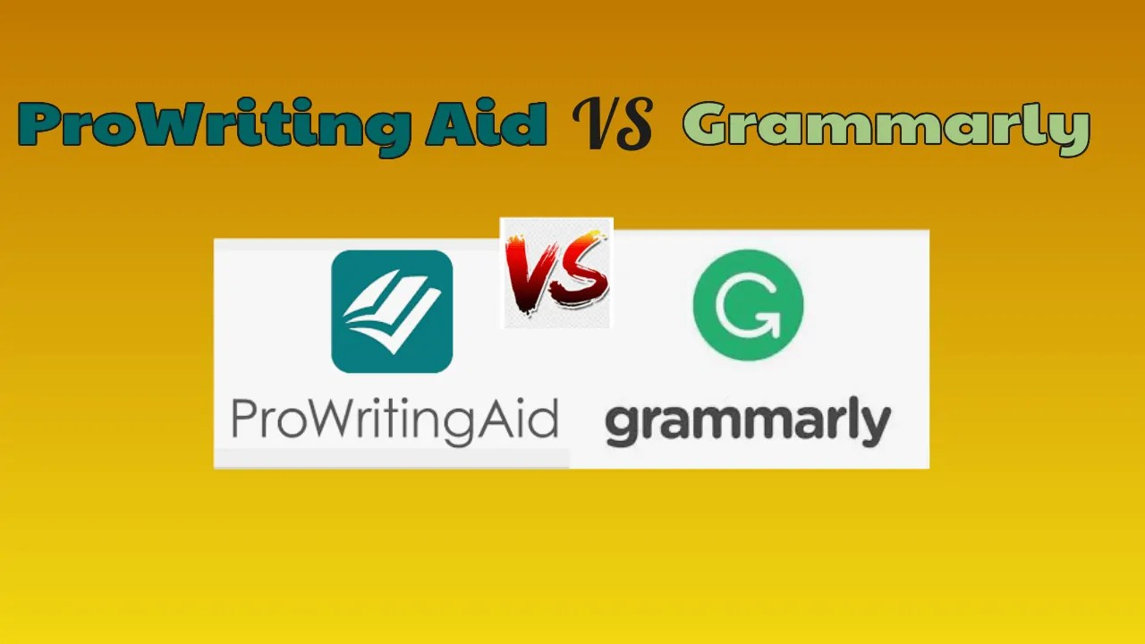 ProWriting Aid VS Grammarly